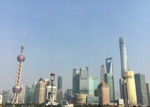 東浦地区の近代的な超高層ビル