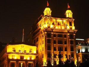 古さと新しさの混在する上海。